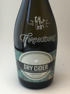**LOCAL** Threadbare - Dry Cider (25.4oz Bottle)